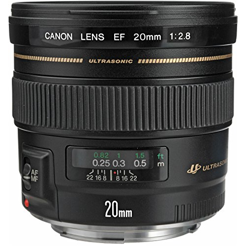 Canon EF 20mm f/2.8 USM Wide-Angle Fixed Lens by Canon