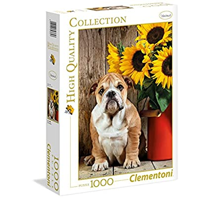 Clementoni 39365 High Quality Collection Puzzle The Bulldog 1000 Pezzi