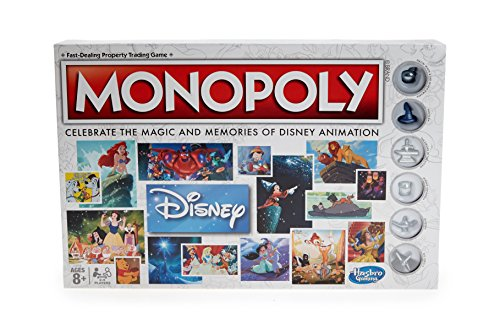Hasbro Gaming Monopoly: Disney Animation Edition Game ()