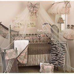 Cotton Tale Designs Girl's 8 Piece Crib Bedding Set, Nightingale