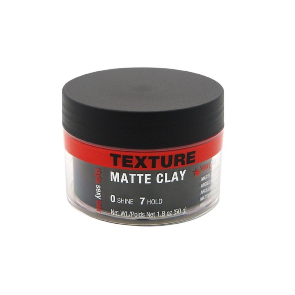 Sexy Hair Sysh Texture Matte Clay Pomade, 1.8 Ounce