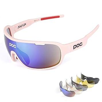 Ciclismo Gafas de Sol de poc con Gafas polarizadas de Pesca ...