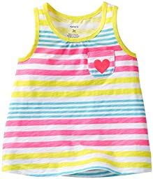 Carter\'s Striped Tank (Baby) - Multicolor-6 Months