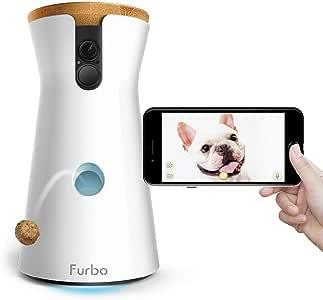 Furbo - CÁMARA para Perros: Telecámara HD WiFi para Mascotas con Audio Bidireccional, Visión Nocturna, Alerta de Ladrido y Lanzamiento de Golosinas, Diseñado para Perros: Amazon.es: Productos para mascotas
