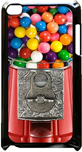 (Gumball Machine-Up-Close- Case for the Apple Ipod 4th Generation-Hard Black Plastic)