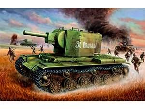 Trumpeter 312  - Rusia tanque KV-2