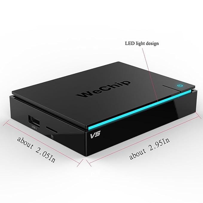Amazon com: Android TV Box, Wechip Smart tv box Android 6 0