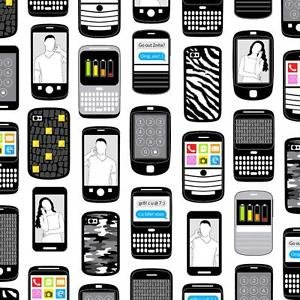 Cell Phone Cover Fabric - 7