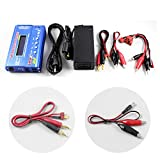 #6: HOBBYMATE Imax B6 Clone Lipo Battery Balance Charger, Rc Hobby Battery Balance Charger LED W/ AC Power Adapter