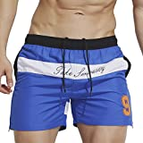 Best Linemoon Mens Swimwear - Linemoon Mens Swimming Trunks Quick Dry Beach Bottoms Review