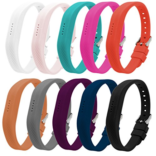 Bands for Fitbit Flex 2, Set of 10, Buck - Ladies Flex Band Shopping Results