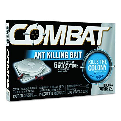 Combat 45901CT Combat Ant Killing System, Child-Resistant, Kills Queen & Colony, 6 Per Box (Case of 12 ()