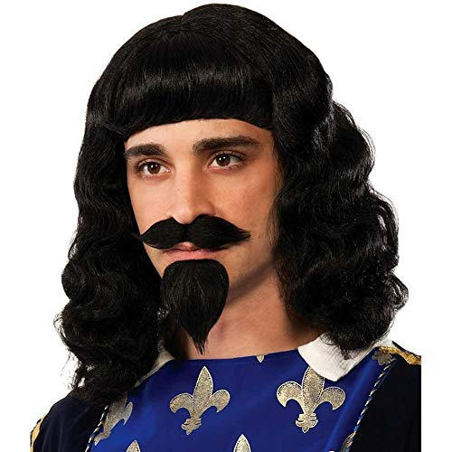 Forum Novelties Musketeer Wig, Beard & Moustache ()