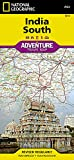 India South (National Geographic Adventure Map)