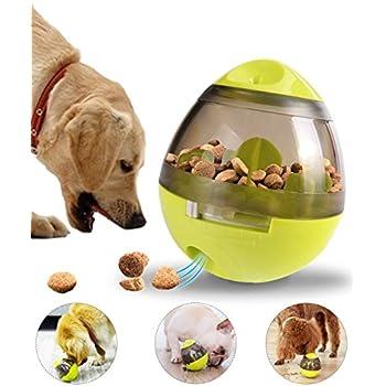 Pet Supplies : Dog Toy Treat Ball Feeder - Interactive