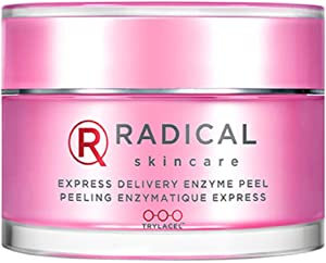 Radical Skincare Express Delivery Enzyme Peel - Reveal Smooth, Supple, Polished Skin In Minutes   Paraben Free   Clinically Proven Results