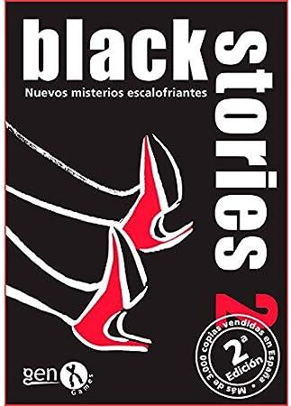 Black Stories - Juego de Mesa, Version 2 (Gen-X Games GEN008): Amazon.es: Juguetes y juegos