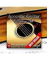 Adagio Pro ACOUSTIC GUITAR Strings Full Pack Medium Gauge 12-52