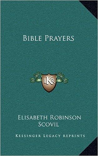 Book Bible Prayers