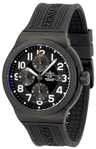 Zeno-Watch Mens Watch - Raid Titan Chronograph black - 6454TVD-bk-a1