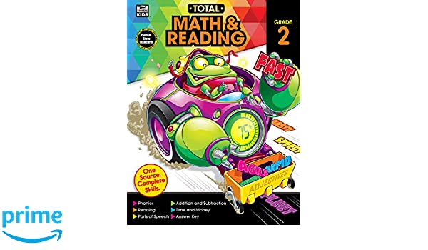 Total Math and Reading, Grade 2: Amazon.es: Thinking Kids ...