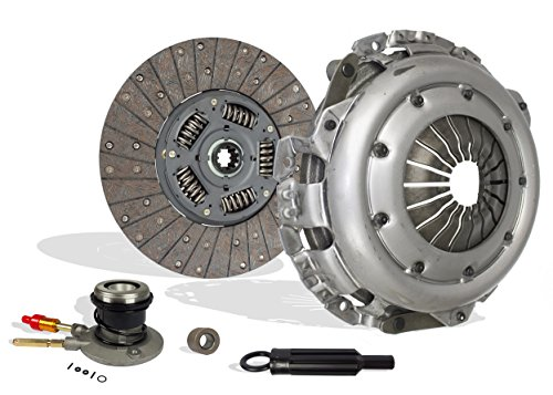 Clutch With Slave Kit Works With Chevy Gmc C/K Pickups Silverado SL SLE SLT Base Cutaway Van 1996-2000 5.0L V8 GAS OHV 5.7L V8 GAS OHV Naturally Aspirated (Stage 1)
