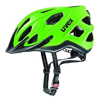 Uvex City S Bicicleta Casco, Todo el año, Unisex, Color Neon Green-