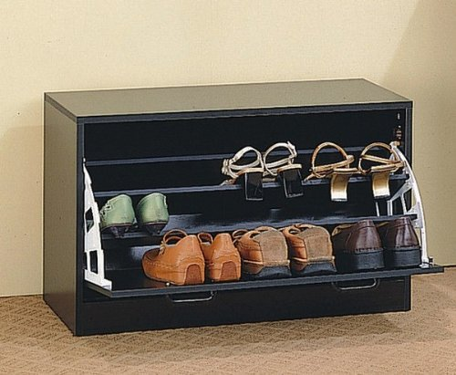 Shoe Rack Single/Cappuccino by Coaster Home Furnishings