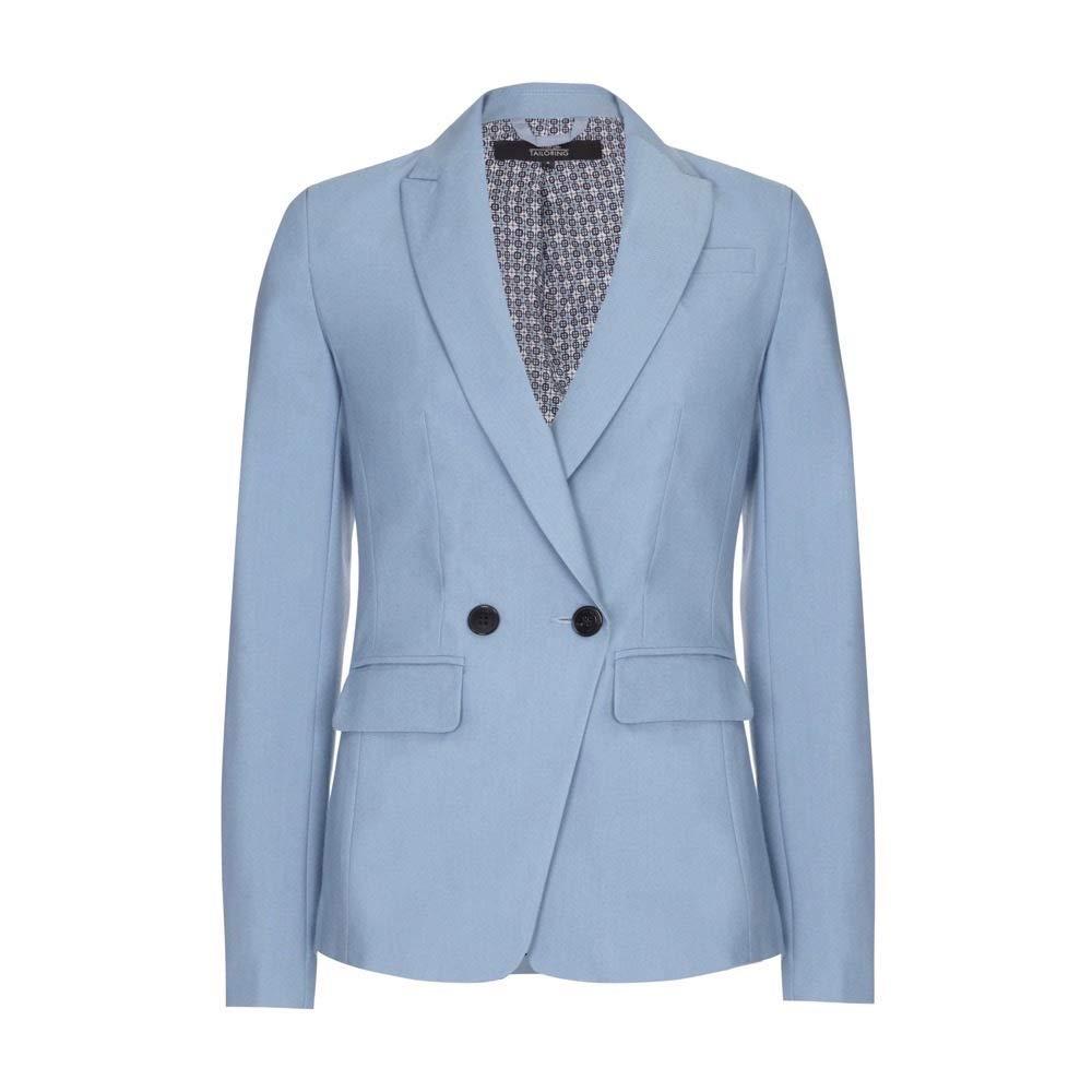 Light bluee EX Next  Light bluee Womens Double Breasted Jacket