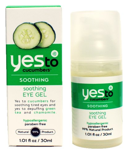 Yes to Cucumbers Eye Love Cucumbers Soothing Eye Gel Cucumbers Eye Love Cucumbers