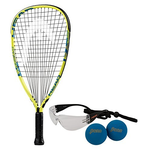 HEAD MX Hurricane Racquetball Pack by HEAD Head USA Inc.