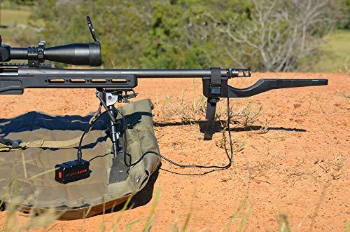 MagnetoSpeed Sporter Barrel-Mounted Ballistics Chronograph Kit, Black, Ultra-Compact Case