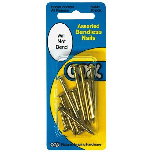 Ook 50034 Assorted Bendless nails -