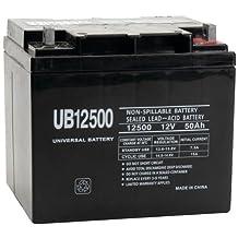 UB12500 - AGM Battery - 12Volt 50Ah -L2 Terminal - Sealed Lead Acid Battery