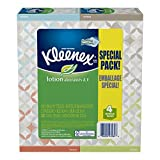 Health & Personal Care : Kleenex Tissues with Lotion, White, Low Count Upright, 50 Count, 4-Pack