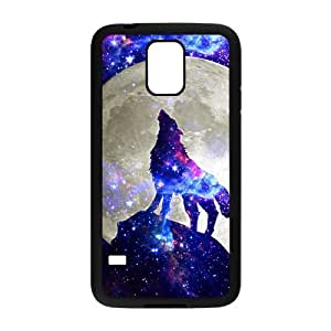 Nymeria 19 Customized Wolf Roar Diy Design For Samsung Galaxy S5 Hard Back Cover Case DE-395