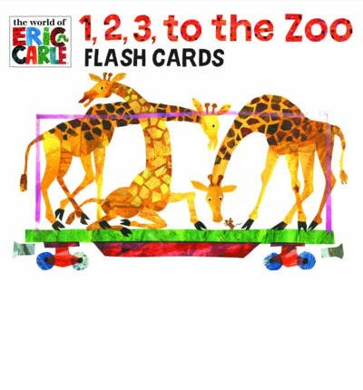 [1, 2, 3 to the Zoo Train Flash Cards (World of Eric Carle)] [Author: x] [March, 2013]