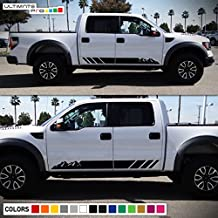 2x Decal Sticker Graphic Side Stripes Compatible with Ford F-Series Raptor 2009-2017