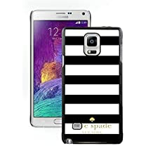 Kate Spade Black Samsung Galaxy Note 4 Screen Cover Case Fantasy and Luxurious Skin