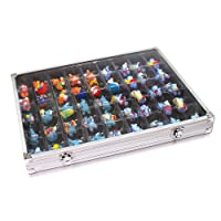 Aluminum Collecting Display Case for Legos, Squinkies, Rocks and MORE