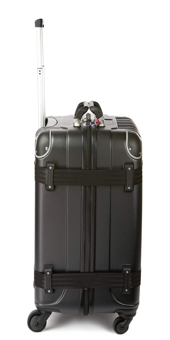 VinGardeValise - Up to 12 Bottles & All Purpose Wine Travel Suitcase (Black) by VinGardeValise (Image #7)