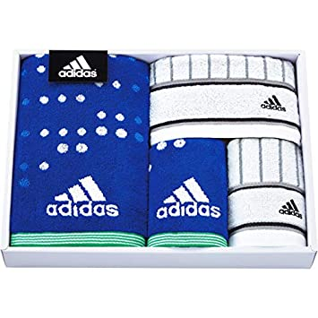 fbf334e6196da8 Amazon|日繊商工 タオルギフトセット ブルー サイズ:スポーツタオル/約 ...
