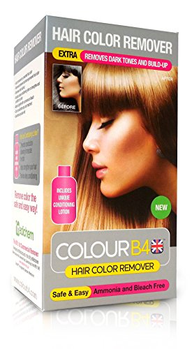 Colour B4 Hair Color Dye Remover Stripper, Extra Strength Kit with Conditioner and Gloves, 9.3 oz