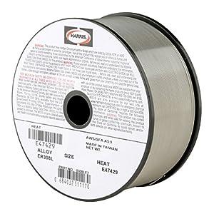Harris 0308LF5 308L Welding Wire, Stainless Steel Spool, 0.035″ x 10 lb.