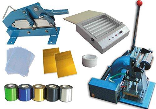 Hot Foil Stamp Machine Press Kit 2(hot Foil Stamping Machine Photopolymer Plate Cutter Uv Exposure Unit)