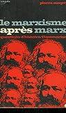 Le marxisme apres marx. collection : questions d'histoire n° 14 par Souyri