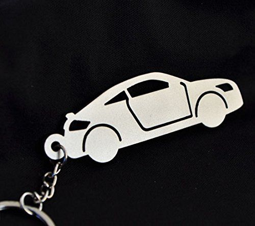 Custom Stainless Steel Keychain for Audi TT Enthusiasts
