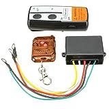 Wireless Remote Control - SODIAL(R) Electric Wireless Winch Remote Control Handset 12V Heavy Duty For Truck Atv SUV