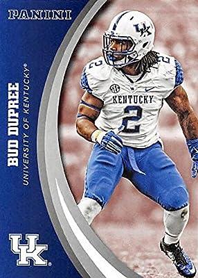 Bud Dupree football card (Kentucky Wildcats) 2016 Panini Team Collection #13