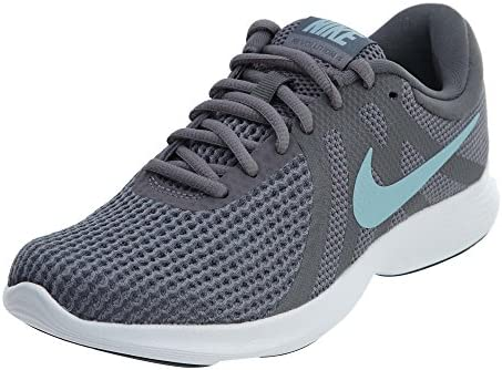 Nike Women s Revolution 4 Running Shoe Gunsmoke Ocean Bliss Dark Grey Size 10 M US